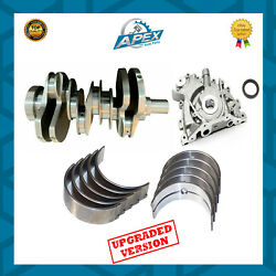Range Rover 2.7 Forged Crankshaft, Oil Pump + Main And Big End Bearings - Upgraded