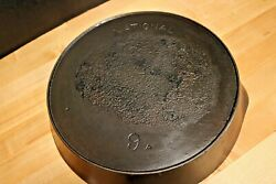 Vintage National No 9a Cast Iron Skillet Heat Ring - Absolutely Flat