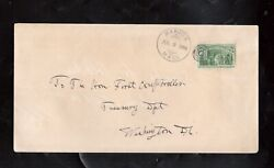 Usa 243 Used Fine On Rare Cover To Washington Dc With Ideal July 3 1894 Cancel