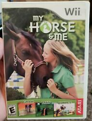 My Horse amp; Me Nintendo Wii 2008 COMPLETE Tested and Working