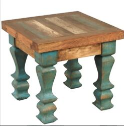 Hand Crafted Rustic Old Wood Table Bfd J15
