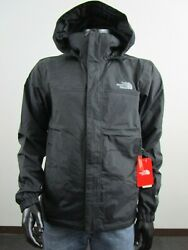 NWT Mens S M L XL XXL North Face Resolve 2 Waterproof Hooded Rain Jacket Black $80.95
