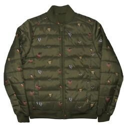 Disneyandrsquos The Lion King Quilted Bomber Jacket Brand New Sz Small