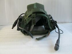 Aviation Military Helmet Headset Insert With Headphones And Mike P/n A3206612-2