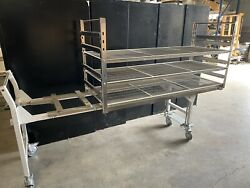 Steris Transfer Carriage Painted Carbon Steel + Load Rack