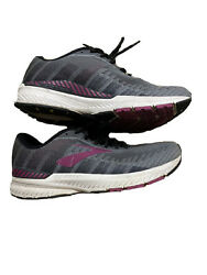 Brooks Womens Ravenna Grey/wild Aster Running Shoes Size 6 1511074
