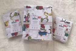 Pottery Barn And Max Cotton Queen Sheet Set W/2 Extra Pillowcases Sold Out
