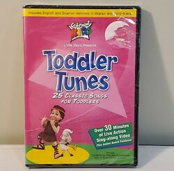New Cedarmont Kids - Toddler Tunes Dvd 2001 25 Classic Songs For Toddlers