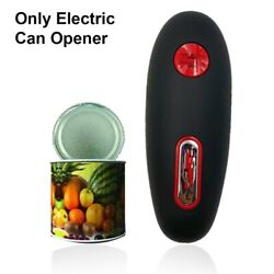 5xautomatic Electric Can Opener Beer Bottle Jar Battery Operated Handheld Can