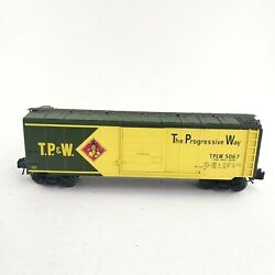 K-line By Lionel O Gauge K-22527 Toledo Peoria And Western Boxcar