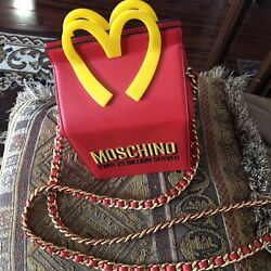 Moschino Couture Bag Happy Meal Bag Jeremy Scott Mcdonald's Fast Food Lmt Edt