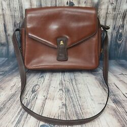 Mark Cross Bags Vintage Brown Leather Handbag Soft Leather Made In Italy EUC $299.00