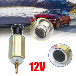 1dc 12v Car Auto Cigarette Lighter Replacement Plug And Socket Assembly Full Set