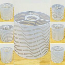Shade Metal Lampshade Table White 6 Model Ceiling Cover Floral Sale Useful