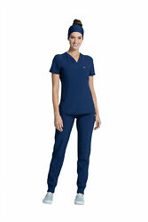 Infinity By Cherokee Womenand039s Ck687a V-neck Scrub Top