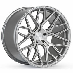 21andrdquo Rohana Rfx10 Brushed Titanium Wheels For Bentley Continental Gt Flying Spur