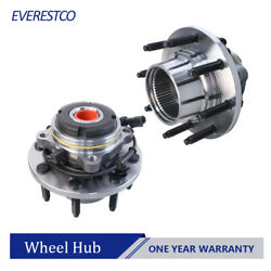 2pcs Front Wheel Hub Bearing Assembly For 1999-2004 Ford F-350 F-250 4wd 515020