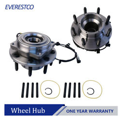 2pcs Front Wheel Hub Bearing Assembly For 2011-2016 Ford F-350 F-250 Super Duty