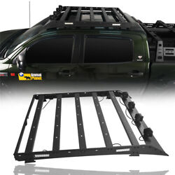 Crewmax Roof Luggage Carrier Baggage Rack Support For Toyota Tundra 2007-2013