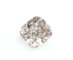 Pink Diamond - 0.51ct Natural Loose Fancy Light Pink Color Vs1 Gia Cushion Cut