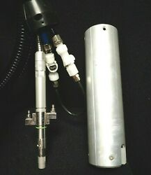 Coherent Laser Fiber Optic Cable W/ Water And Pneumatic Hoses 65'