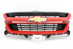 New Gm Oem Chevy Colorado 2015-2021 Red Hot G7c Sport Painted Grille 84270796