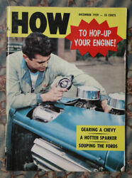 1959 How To Ford Hop Up Flathead Hot Rod Hemi Blown Fed Dragster A Roadster Vtg