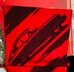 Porsche 2021 Chinese New Year Gift 356 Silk Scarf Wrap With Red Envelopes