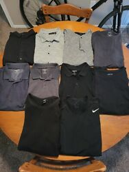 Lot Of Men's Collared Nice Dress Shirts Business Casual