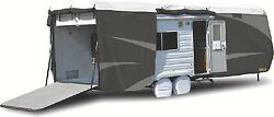 New Toy Hauler Designer Series Tyvek Plus Wind Rv Cover Adco 34876 Length 33and0397