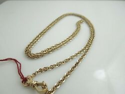 G504 Long Vintage Unisex 14kt Yellow Gold 30 Specialty Chain