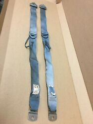 1971-72 Ford Mustang Mercury Montego Seat Belts Blue