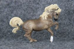 Breyer CM Custom Stablemate Croi to dappled chestnut going grey by S.Hampson DWS