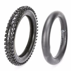 60/100-12 12 Front Tire Tyre And Tube For Crf50 Crf70 Sdg Ssr Dirt Pit Bike