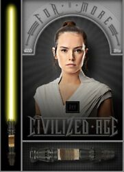 [digital Card] Topps Star Wars - For A More Civilized Age - Rey