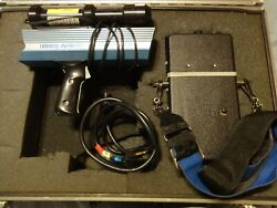 Telatemp Infrared Thermometer /helium Neon Laser And Telatemp Corp Model 44lps