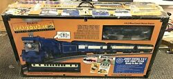 Mth Railking 30-4049-1 Jersey Central Blue Comet Train Set New Sealed Free Ship
