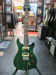 Paul Reed Smith Prs Se Custom 24 Green Electric Guitar Used Free Shipping