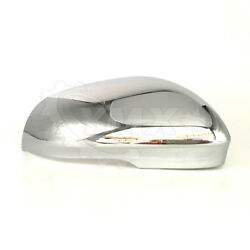 New View Mirror Cover Cap Trim For Jaguar Xjr Xkr Xf Passenger Right Side Chrome
