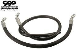 1964-70 Ford Mustang 400 Series Power Steering Gearbox Conversion P/s Hose Kit