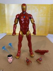 "Marvel Legends Invincible Iron Man 6"" Action Figure From Okoye Wave"