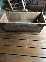 Vintage Banana Trading Company Wooden Fruit Box Crate Antique