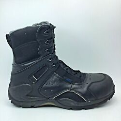 Rocky 1st Med Carbon Waterproof Side Zip Up Boots Size 10m Fq911113
