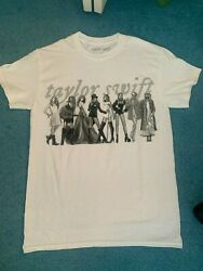 New Taylor Swift Eras T-shirt Folklore Limited Edition Size Small