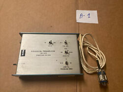 Biological Preamplifier Sa-1475 Stoelting Co