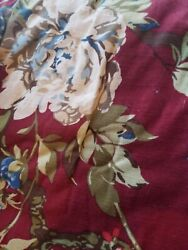 Set Of 3 Dillards Noble Excellence Floral Queen Size Comforter And 2 Shams