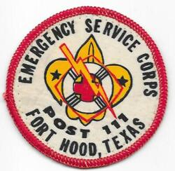 Fort Hood Texas Military Base Longhorn Council Post 111 Boy Scouts Of America