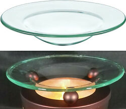 4.5 Replacement Glass Dish For Oil Warmer Tart Burner Round