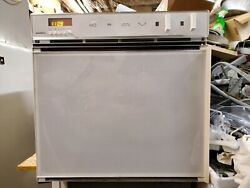 Pure White Gaggenau Eb877-620 Built-in Electric 24 Wall Oven Right Door Handle