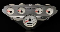 1955 1956 1957 1958 1959 Chevy Truck 5 Gauge Gps Dash Panel Engine Turned Rm Wh